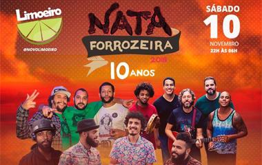 Lançamento do DVD - Nata Forrozeira 2018 - 10 anos