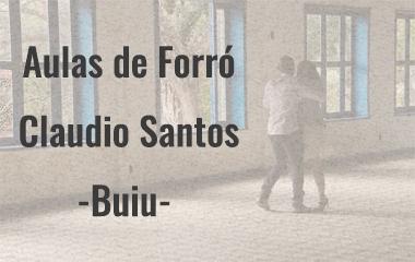 Aulas Particulares de Forró com Claudio Santos - Buiu