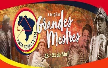 Nata Forrozeira 2019 Edição Grandes Mestres